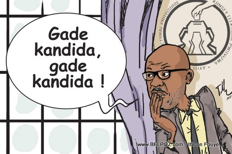 PHOTO: Haiti Elections Caricature - Gade Kandida, gade kandida...