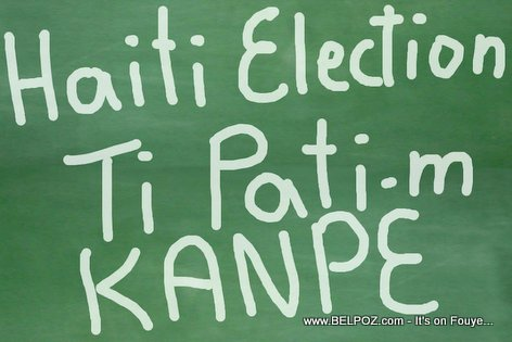 Haiti Elections - Ti Pati-m Kanpe