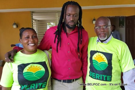 PHOTO: Haiti - Don Kato Candidat au Senat - Parti VERITE