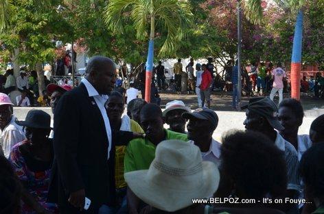 Haiti Elections 2015 - Anrino Destinoble Candidate for Senator - Centre Hinche