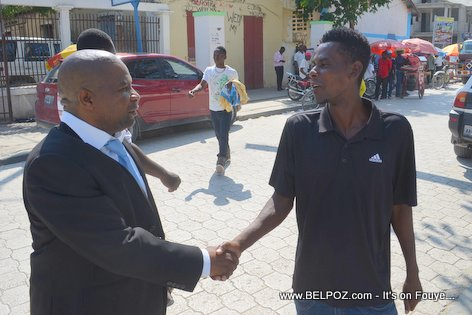 Haiti Elections 2015 - Anrino Destinoble Candidate for Senator - Centre Hinche