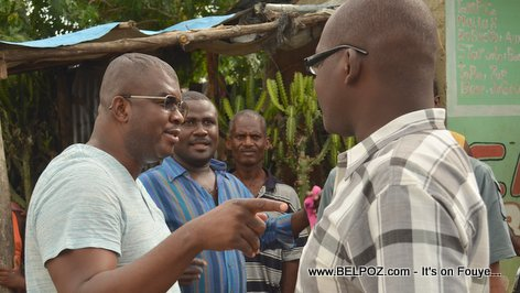 Rony Celestin Meeting Youth Organisations in Village Kiskeya Hinche