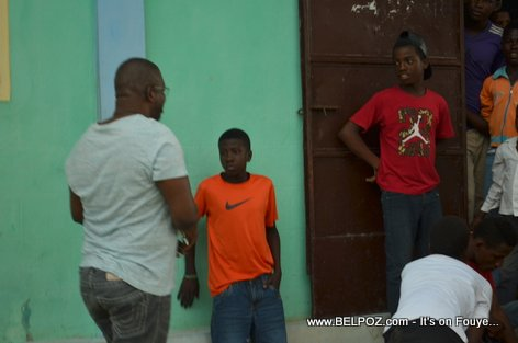 Rony Celestin Meeting PHTK Leaders in Savanette Cabral
