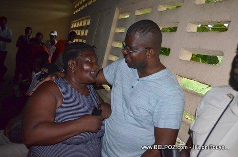 Rony Celestin Meeting PHTK Leaders in Savanette Cabral