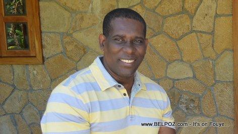 Louis Romel Beauge - Depute de Maissade Haiti