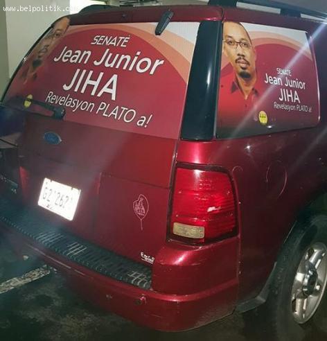 Haiti Election - Ekip Jean Junior Jiha pare pou Kanpay la