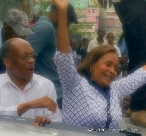 ARISTIDE and Maryse Narcisse in the Streets of Petionville