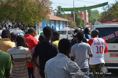 Haiti Elections 2015 - Jean Junior Jiha Candidate for Senator - Centre Hinche