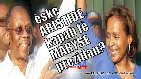Eske ARISTIDE kapab fè MARYSE Narcisse Prezidan?