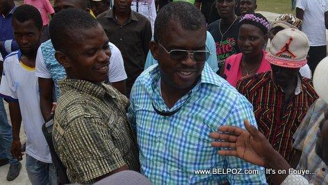 PHOTO Rony Celestin For Senator - Campaign in Thomassique