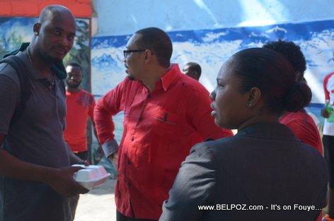 Haiti Elections 2015 - Jean Junior Jiha Candidate for Senator - Centre Hinche