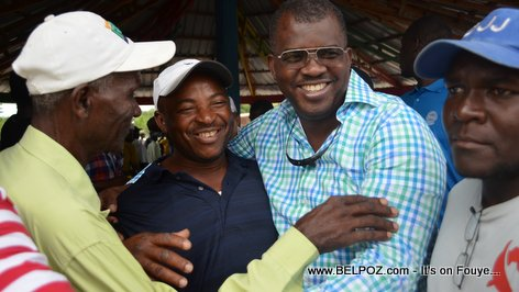 PHOTO Rony Celestin For Senator - Campaign in Thomassique
