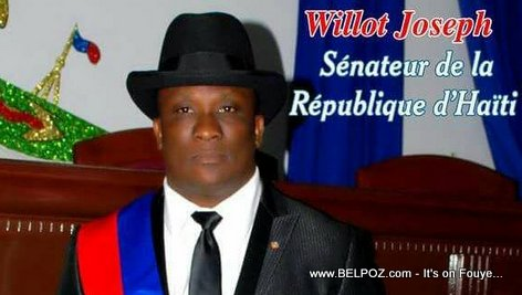 PHOTO: Haiti Senateur Willot Joseph