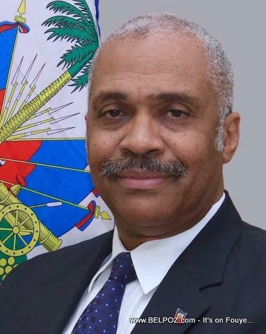 PHOTO: Jack Guy Lafontant - Prime Minister of Haiti