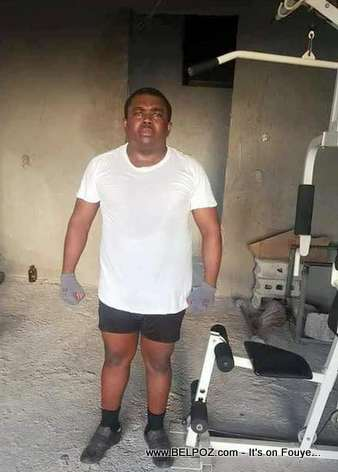 Haiti Politics - Opposition Leader Andre Michel at the Gym