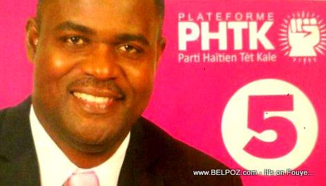 PHOTO: Kedlaire Augustin - Senateur Nord-Ouest, Haiti