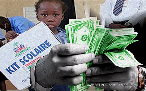 PHOTO: Haiti Kits Scholaire - Ministers making Huge profits