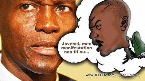 Moise Jean Charles - Manifestation anti Jovenel Moise