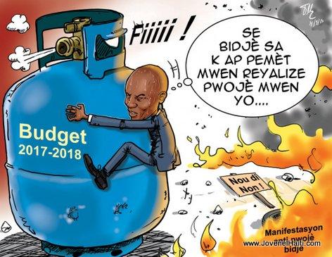 President Jovenel Moise MELE ak koze Budget sa a LOL...