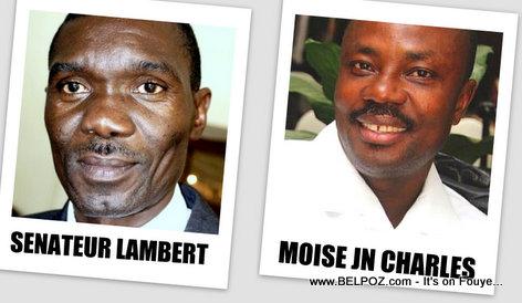 Senateur Joseph Lambert - Moise Jean Charles