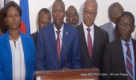 Haiti President Jovenel Moise - Salon Diplomatique Aéroport Toussaint Louverture-Port-au-prince, Haiti