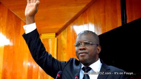 PHOTO: Haiti Senateur Rony Celestin