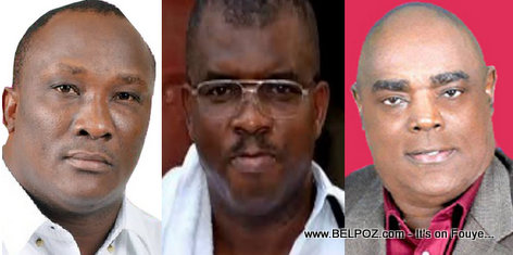 PHOTO: Haiti Senators Willot Joseph, Rony Celestin, WIlfrid Gelin