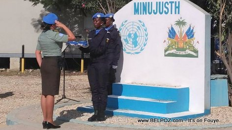PHOTO: Haiti - MINUJUSTH taking over where MINUSTAH left off