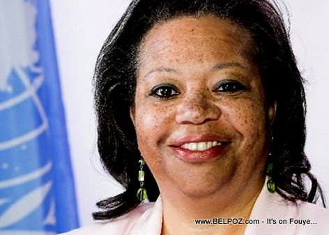 PHOTO: Susan D. Page - former Head of MINUJUSTH in Haiti
