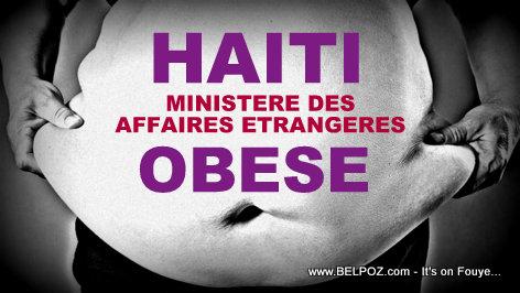 Haiti Obese : Ministère des Affaires Etrangères