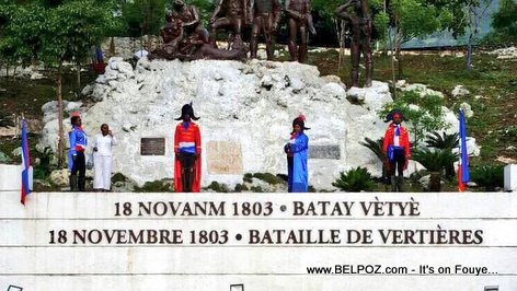 Haiti Decor, Commemoration of the 214 years of the Battle of Vertières