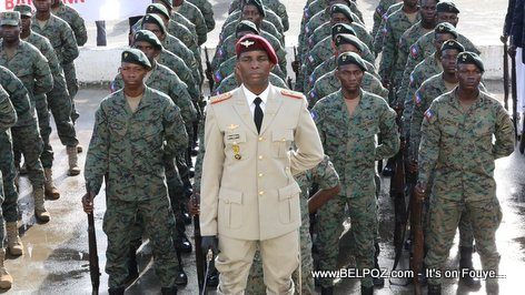 PHOTO: The Haitian Armed Forces - Les Forces Armées d'Haiti