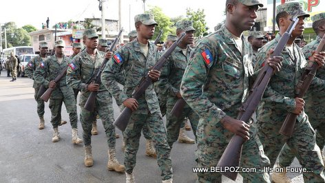 The Haitian Armed Forces - Les Forces Armées d'Haiti