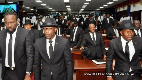 PHOTO: Haiti - Senators of the Republic