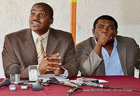 Newton St Juste, Andre Michel - Haiti Political Activists