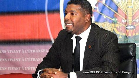 Guy Andre Junior Francois, Haiti's new Minister of Haitians Living Abroad