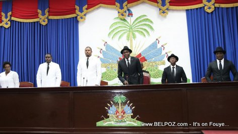 Haiti National Assembly - Gary Bodeau - Joseph Lambert