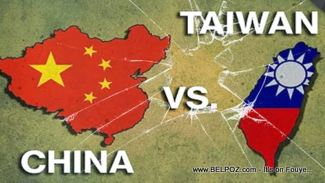 Diplomatic war between China and Taiwan