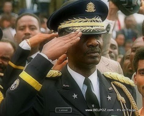 PHOTO: Lieutenant-General Herard Abraham - Forces Armees d'Haiti (FADH)