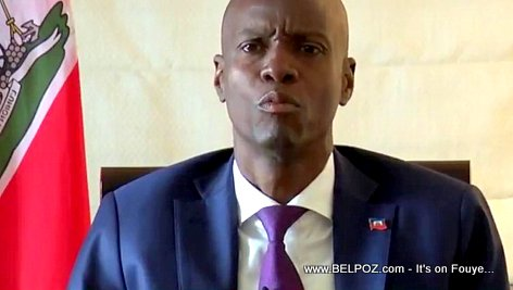 PHOTO: Haiti President Jovenel Speaking to the Nation