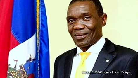 PHOTO: Haiti - Joseph Lambert - President of the Senate