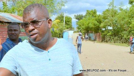 Haiti Senateur Rony Celestin - Senateur du Plateau Central