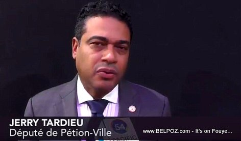 PHOTO: Jerry Tardieu - Depute de Petion-Ville