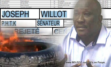 Haiti Willot Joseph pran kanè, Kawotchou ap boule