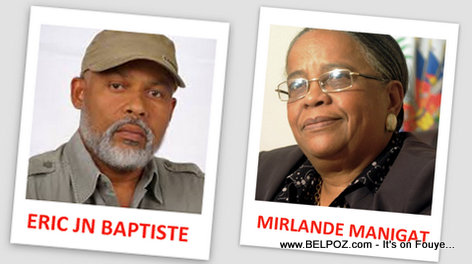 PHOTO: Haiti - Eric Jn Baptiste and Mirlande Manigat