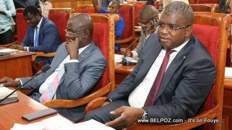 Senateur Rony Celestin & Senateur Onondieu Louis au Senat