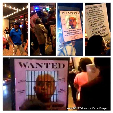 Haiti Diaspora - Anti Martelly Protest - #PetroCaribeChallenge