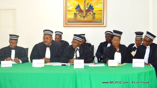 PHOTO: Haiti -  La Cour Supérieure des Comptes et du Contentieux administratif CSCCA