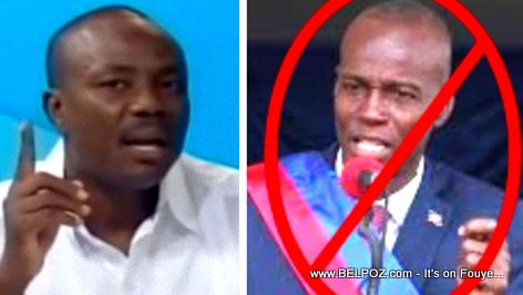 PHOTO: Haiti - Moise Jean Charles vs Jovenel Moise