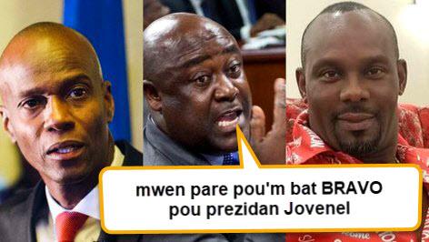 Senateur Beauplan pare pou bat bravo pou President Jovenel Moise